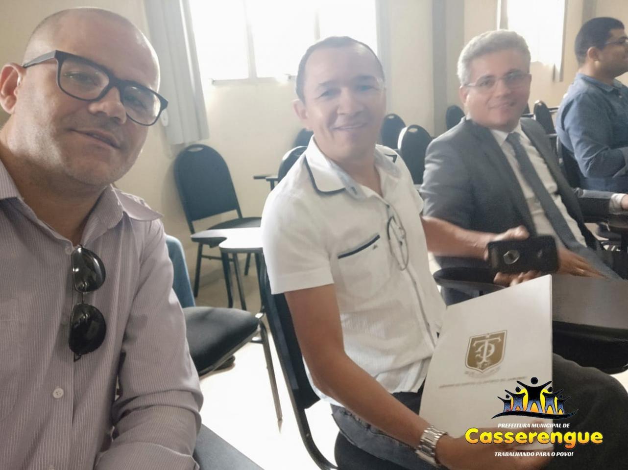 O município de Casserengue assinou o protocolo de intenções do consórcio intermunicipal para desenvolvimento urbano (CIMDURB)