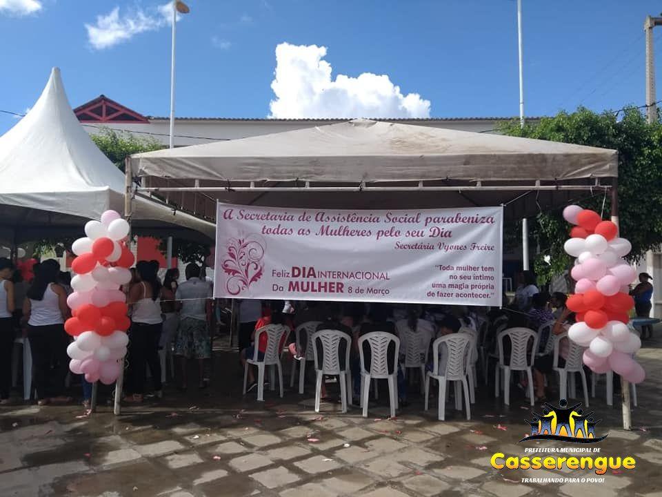 """Evento realizado em referência ao """"Dia Internacional Da Mulher"""""""