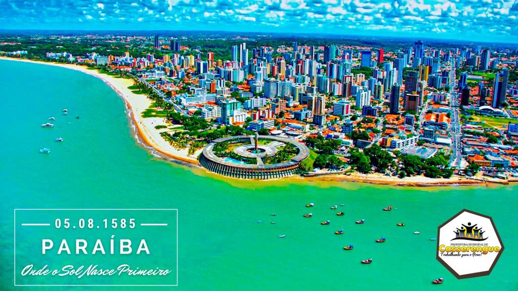 FUNDAÇÃO DA PARAÍBA: feriado de '05 de agosto'
