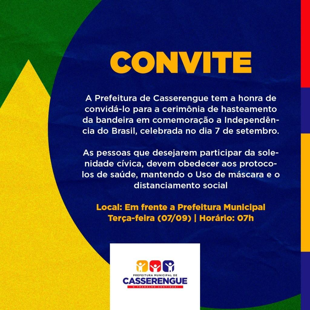 CONVITE HASTEAMENTO DA BANDEIRA