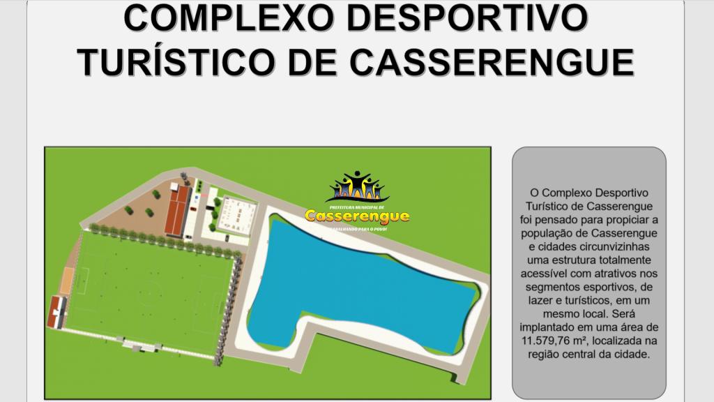Prefeitura de Casserengue apresenta projeto completo do Complexo de Lazer, Desporto e Turismo na área da Lagoa