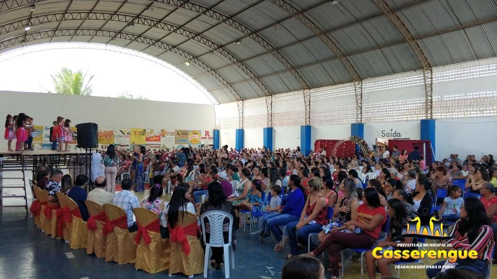 Festas das Mães promovida pela Prefeitura Municipal