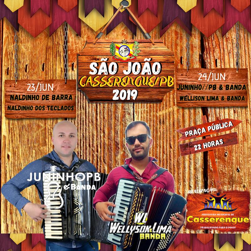 🕺🕺SÃO JOÃO OFICIAL 2019 - CASSERENGUE/PB🌽💥