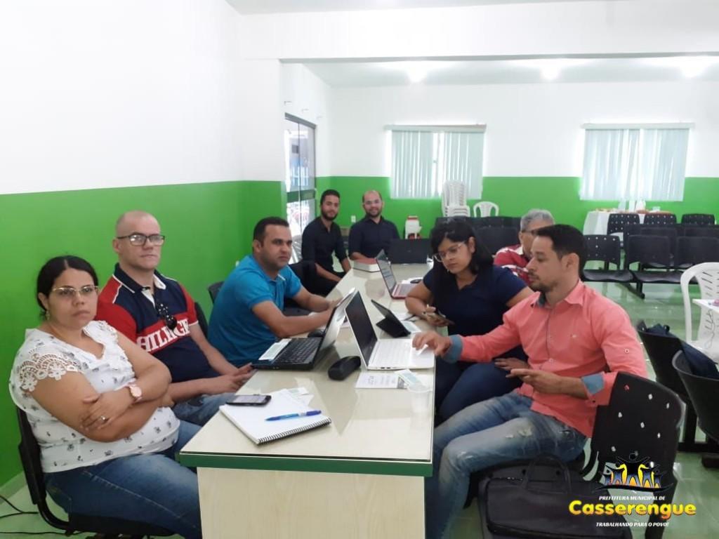 Equipe de Pregoeiros participa do Curso Operacional para Pregão Eletrônico