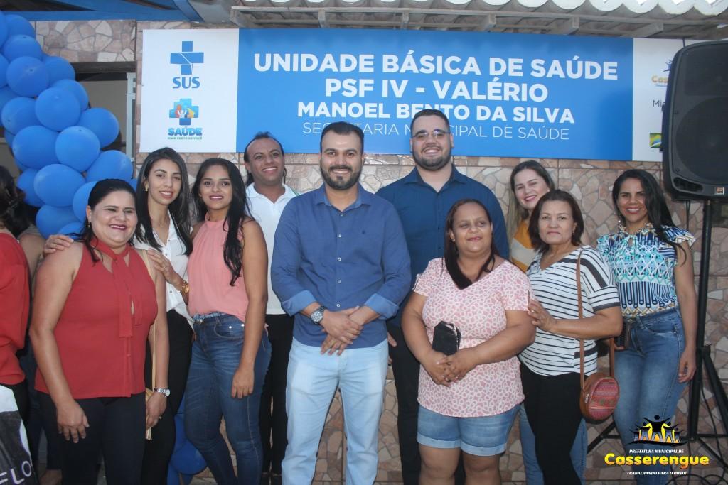 INAUGURAÇÃO DO PSF IV - VALÉRIO