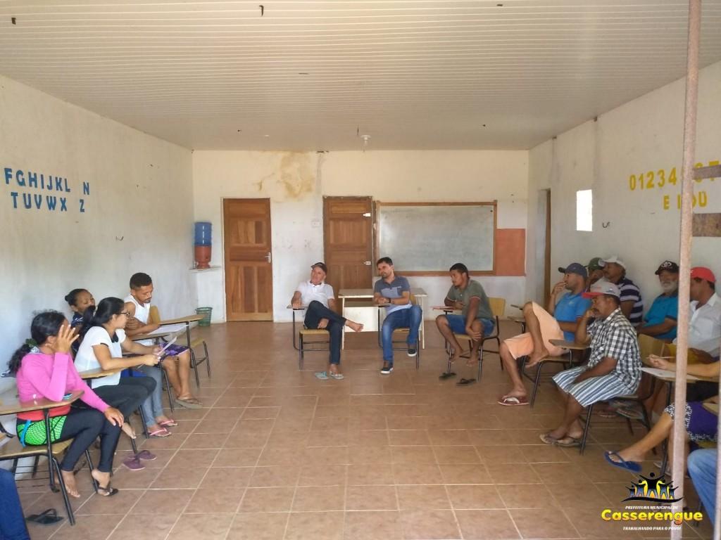 Importante Reunião no Assentamento Che Guevara