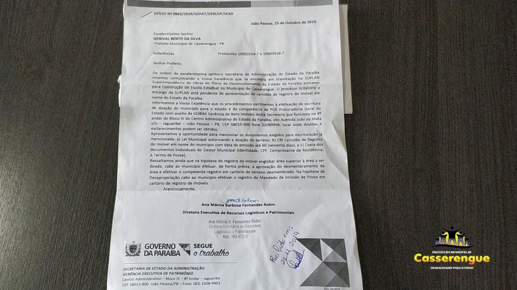 Prefeito Dinda tem novidades para o nosso município